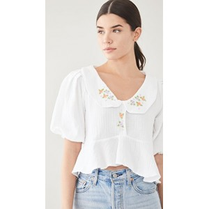 Tach Clothing Womens Larina Top White boutique MNJO583