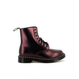 Womens Dr. Martens Fall Winter 20/21 1460 pascal ankle boots in red LCRY833
