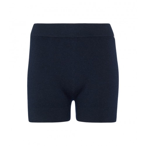 Extreme Cashmere Women Shorts Business Casual - N° 179 Very stretch-cashmere shorts Navy WK4TB5087