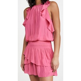 Ramy Brook Young Women's Rooney Dress Rose Pink Going Out Regular WIHY907